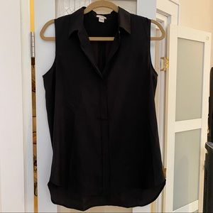 J. Crew button up, collared tank